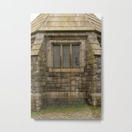 The Dairy Cobblestone Building at St. Michael's Mount Metal Print