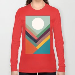 Rows of valleys Long Sleeve T-shirt