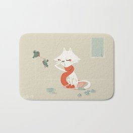 Running nose Bath Mat