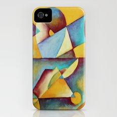 Blue Slim Case iPhone (4, 4s)