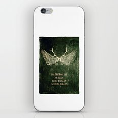 Dream within a Dream iPhone & iPod Skin