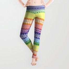Tribality Rainbow Leggings