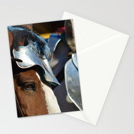 Jousting Horse - Armored Pair Stationery Cards