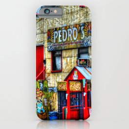 Mexican  Bar iPhone Case