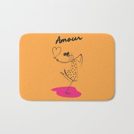 """The Ink - """"Amour"""" Bath Mat"""
