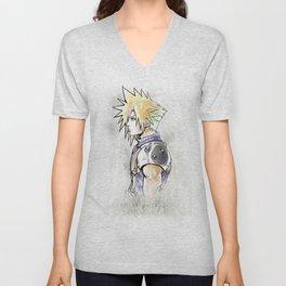 Cloud Strife Artwork Final Fantasy VII Unisex V-Neck