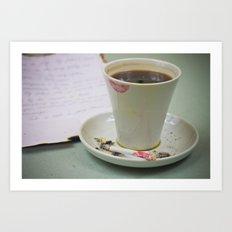 Coffee-2 Art Print