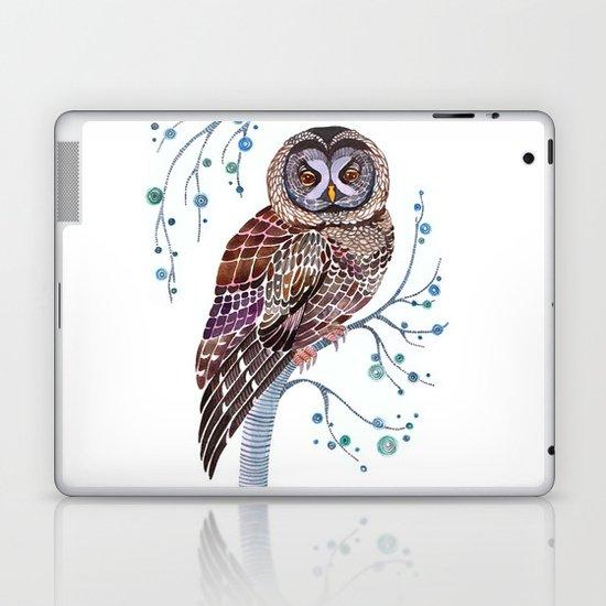 lacy owl Laptop & iPad Skin