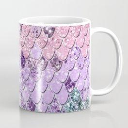 Mermaid Scales with Unicorn Girls Glitter #1 #shiny #pastel #decor #art #society6 Coffee Mug