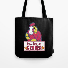 Love Has No Gender Tote Bag