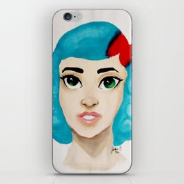 Valerie Front Facing iPhone Skin