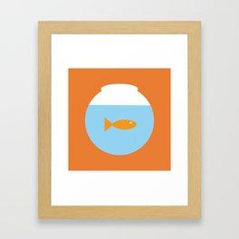 Flushed 1 Framed Art Print