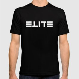 ELITE - Ambigram series (Black) T-shirt