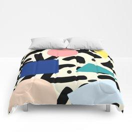Burros de colores Comforters
