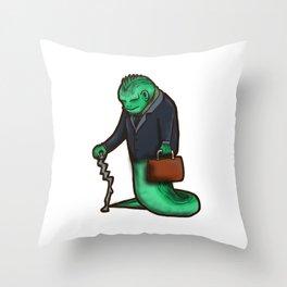 villains get old too Throw Pillow