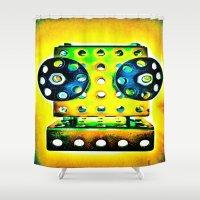dj Shower Curtains featuring DJ by Yukska
