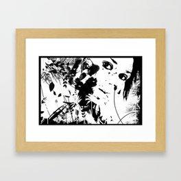 Hide & Hide Framed Art Print