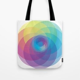 Spiral Rose Tote Bag