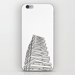 Architecture: Tule Towers iPhone Skin