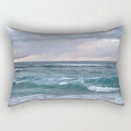 horizon in paradise Rectangular Pillow