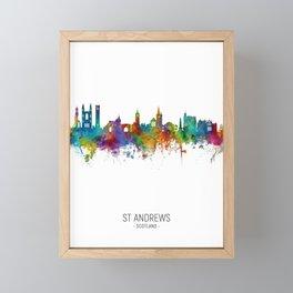 St Andrews Scotland Skyline Framed Mini Art Print