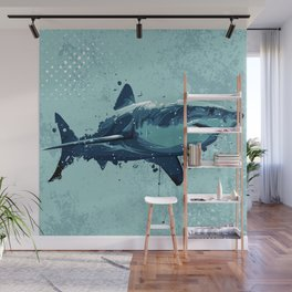 Guppy | Great White Shark Wall Mural