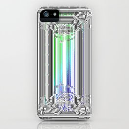 Green Door iPhone Case