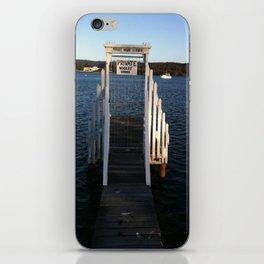 Wharf Walk iPhone Skin