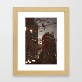 New York Manhattan Framed Art Print