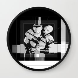 MACHO LOVE Wall Clock