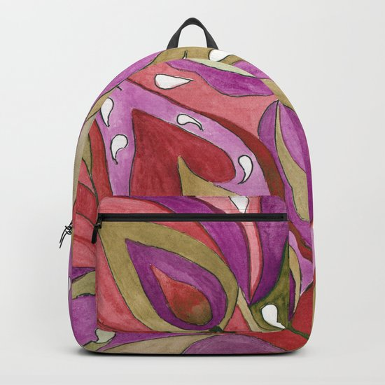 A Feather Of The Zhar Bird . Backpack