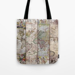 Old Times (World Map) 2 Tote Bag
