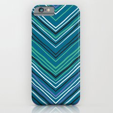 Chevron pattern with thin zigzag lines Slim Case iPhone 6s