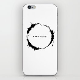 covfefe iPhone Skin