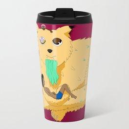 Geezer Cat Travel Mug