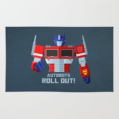 Autobots, Roll out! (Optimus Prime) Rug