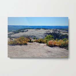 The Enchanted Rock State Natural Area Metal Print