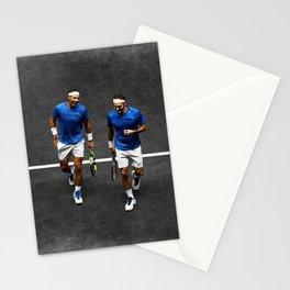 Nadal & Federer Stationery Cards