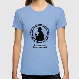 Sherlock Holmes Discretion Guaranteed T-shirt