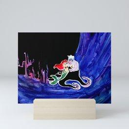 Ariel & Ursula Mini Art Print