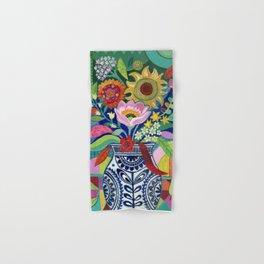 Late Summer Blooms Hand & Bath Towel