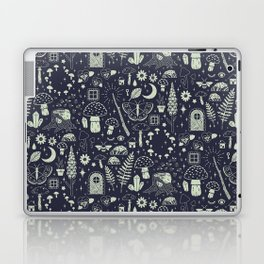 Fairy Garden: Midnight Laptop & iPad Skin