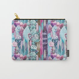 Soul blossom of roses and feathers Carry-All Pouch