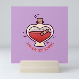 Forgive Not Forget Mini Art Print