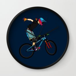 Freeride Wall Clock