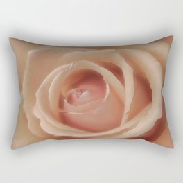 Pink Sensual Rose Rectangular Pillow