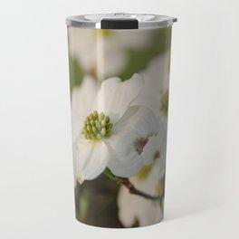 Dogwood Blossoms Travel Mug