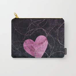 Heart grunge Carry-All Pouch