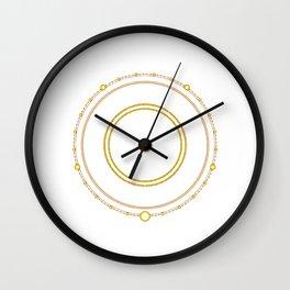 Circle of the Seraph Wall Clock