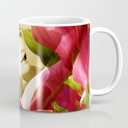 """Exotic Woman Tropical Jungle"" Coffee Mug"